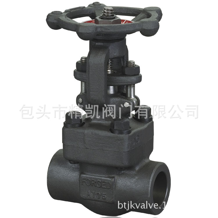 Z61H Z61Y内螺纹 承插焊锻钢闸阀 对焊高压闸阀