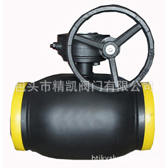 厂家直销  Q361F Q367F 蜗轮传动焊接球阀 直埋式天然气球阀