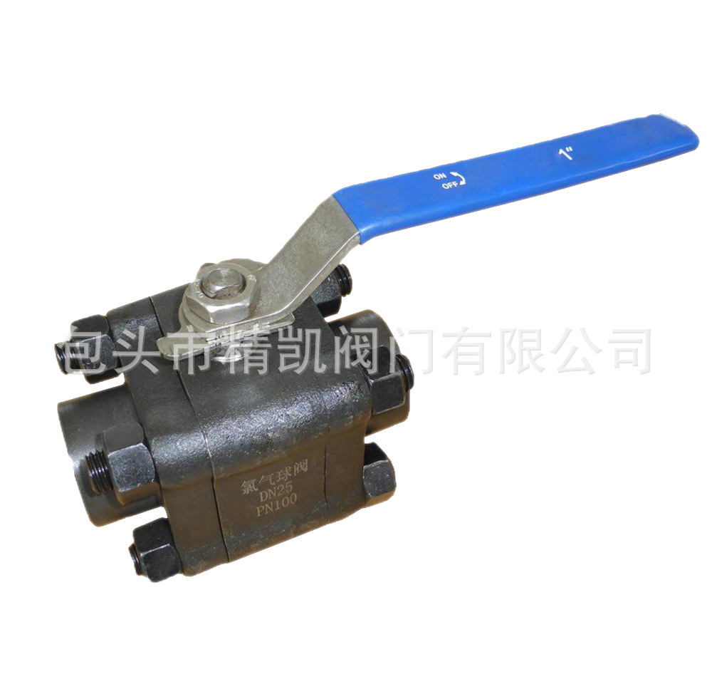 内蒙A105化工锻钢阀 Q11F Q11Y手动锻造内螺纹球阀