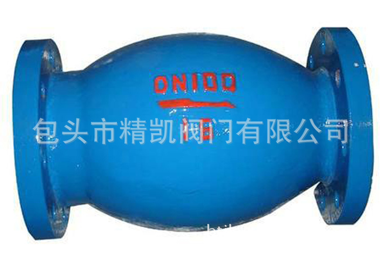 厂价直销 HQ44X  HQ45X 微阻球形止回阀 无磨损球型单向阀
