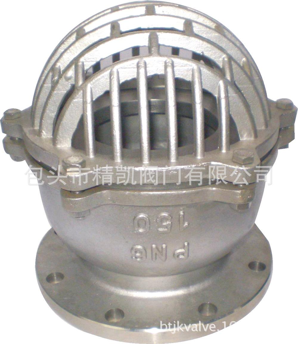 厂家直销 内蒙betway88必威客户端 H42W H42H 碳钢法兰水泵吸水底阀 止回阀