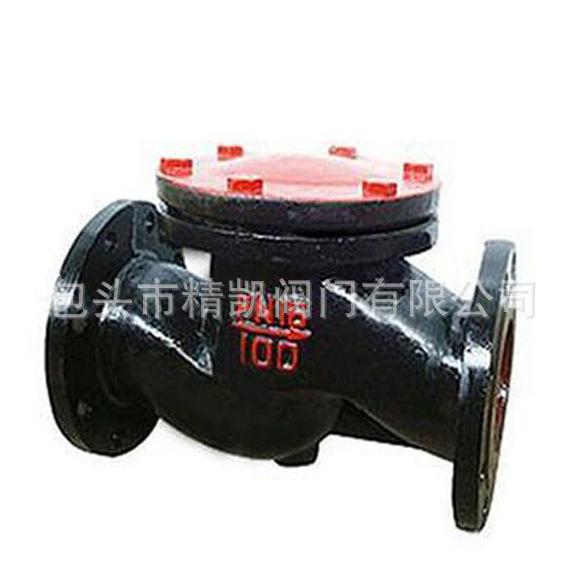 供热管道betway88必威客户端直销 H41T H41W 铸铁法兰升降式止回阀