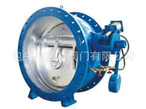 内蒙渣浆泵配套betway88必威客户端直销  BFDZ701X液力自控缓闭蝶式止回阀