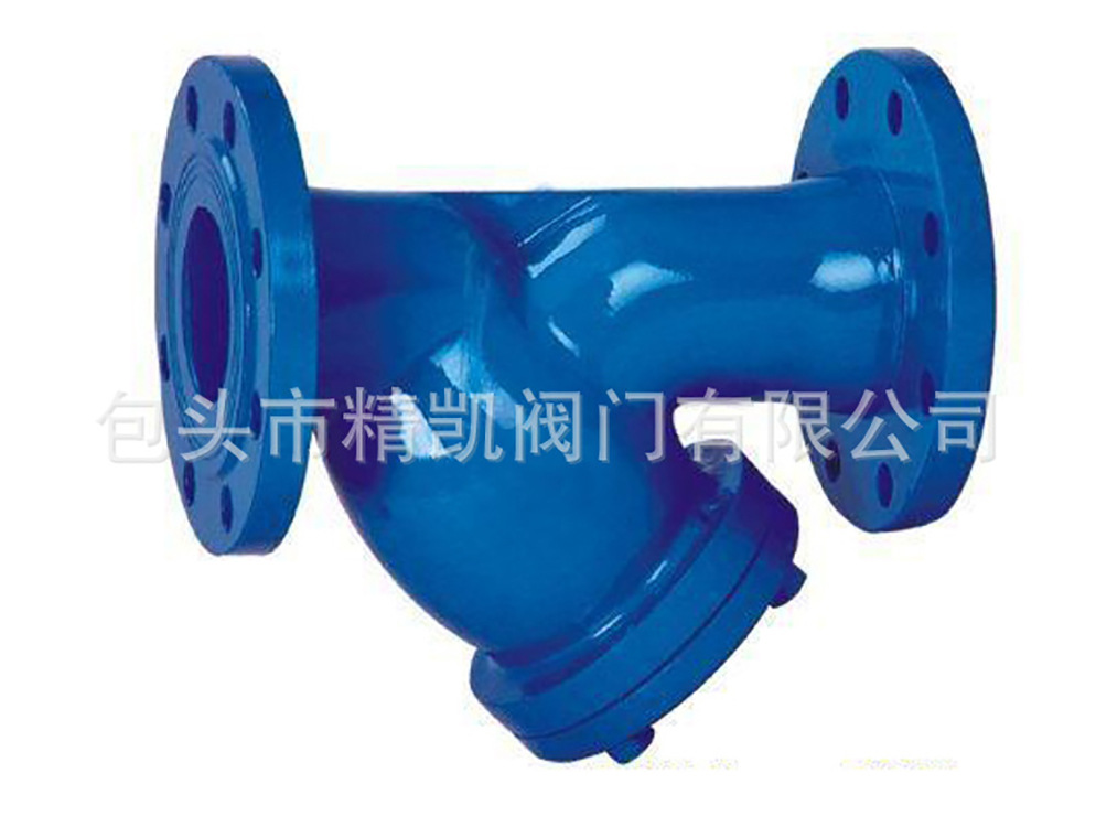 管道配套betway88必威客户端直销  GL41H法兰球墨铸铁Y型过滤器 除污阀