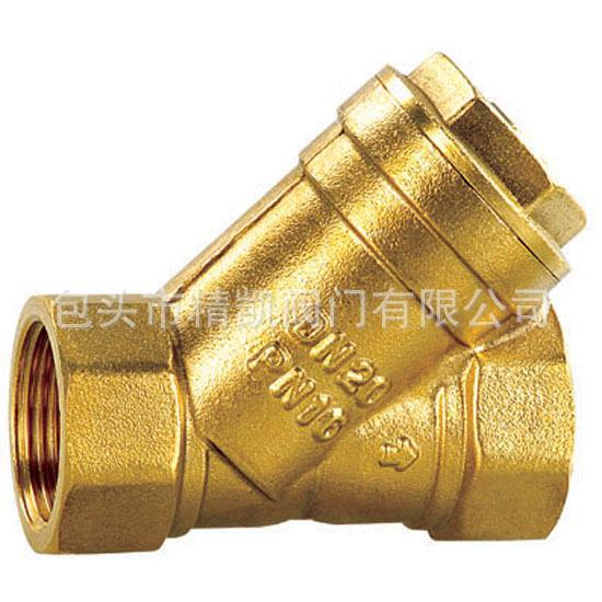 天然气配套betway88必威客户端直销 GL41W-10T/16T 黄铜丝扣内螺纹过滤器