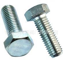 包头呼和浩特铁道工程管道配套镀锌标准件 镀锌螺栓  8.8级螺栓