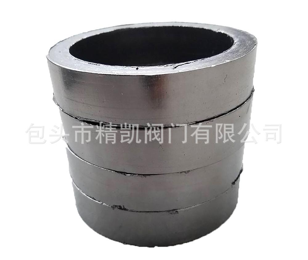 内蒙管道设备压盖密封垫 非标石墨填料环 石墨盘根环垫