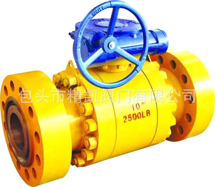 燃气管道betway88必威客户端 Q347H  高压锻造 防火防静电锻钢球阀